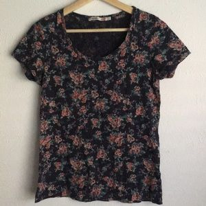 Uniqlo Laura Ashley limited collection floral top